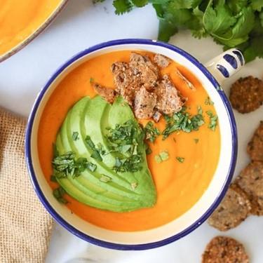 Golden Bell Pepper Soup Recipe | SideChef