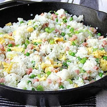 Chinese Ham and Egg Fried Rice Recipe   SideChef