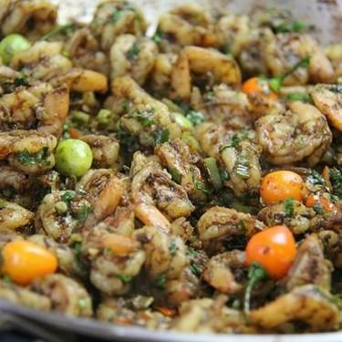 Caribbean Fiery Geera (Cumin) Shrimp Recipe | SideChef
