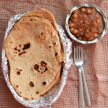 Wheat Naan Bread Recipe | SideChef