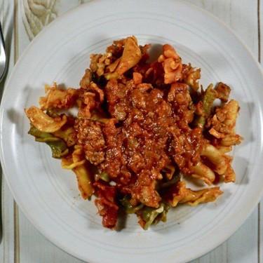 Slow Cooker Pork Bolognese Recipe | SideChef
