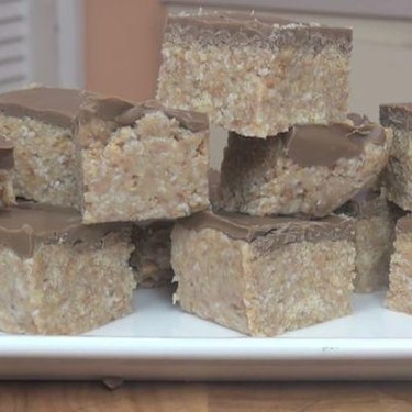 No Bake Chocolate Slice Recipe | SideChef