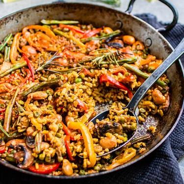 Authentic Spanish Vegetable Paella Recipe   SideChef