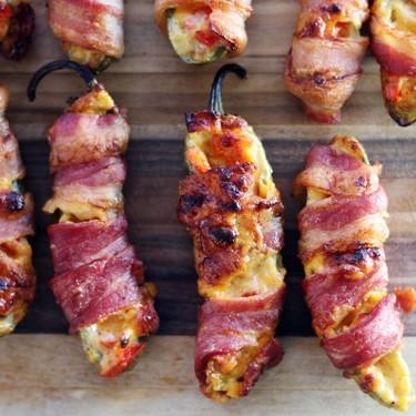Pimento Cheese Bacon Jalapeño Poppers Recipe | SideChef