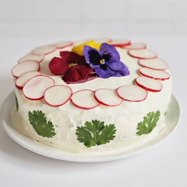 Salad Cake Recipe | SideChef