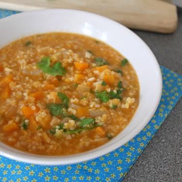 Lentil and Bulgur Soup with Lemon and Parsley Recipe   SideChef