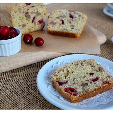 Cranberry Walnut Bread Recipe | SideChef