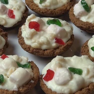 White Christmas Tartlets Recipe   SideChef