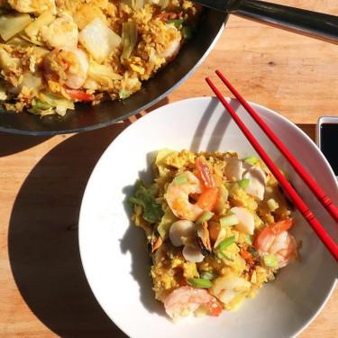 Seafood Fried Rice Recipe | SideChef