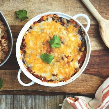 Southwestern Black Bean Casserole Recipe | SideChef