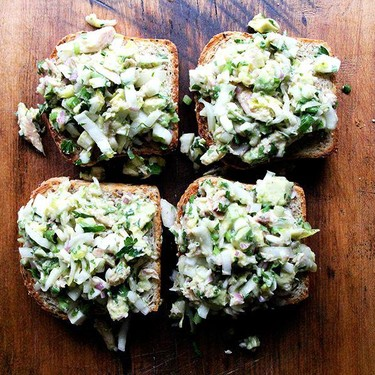 Smoked Trout and Avocado Salad Toasts Recipe   SideChef