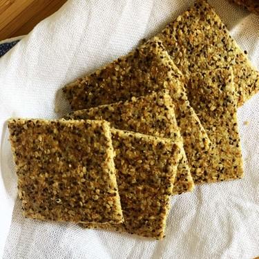 No Flour No Yeast Keto Crackers Recipe   SideChef
