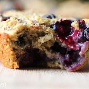 """Blueberry """"Super Power"""" Muffins Recipe   SideChef"""