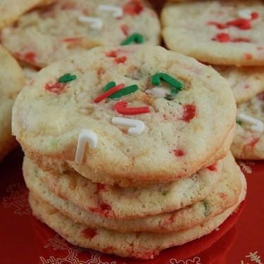 Mini Candy Cane Crunch Cookies Recipe | SideChef
