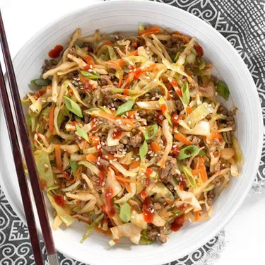 Beef and Cabbage Stir Fry Recipe   SideChef
