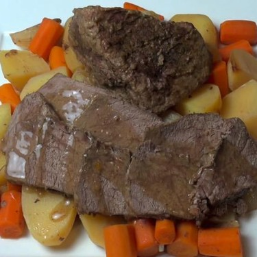 Slow Cooked Pot Roast with Vegetables Recipe | SideChef