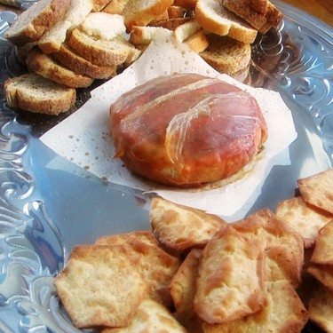 Baked Brie with Sage and Prosciutto Recipe   SideChef