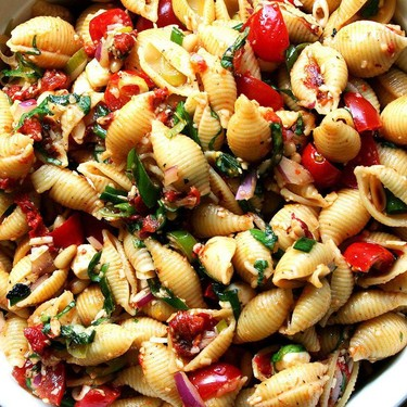 Kristina's Simple Pasta Salad Recipe | SideChef