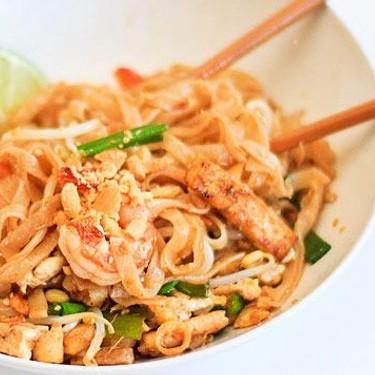 Pad Thai Noodles Recipe   SideChef