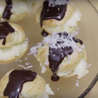 Coconut Cream Puffs Recipe | SideChef