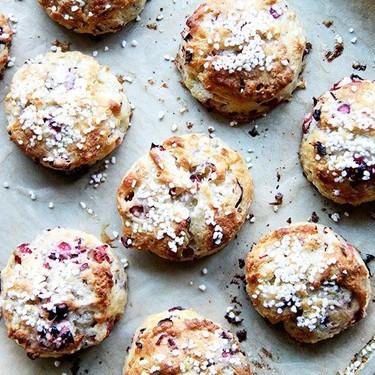 Cranberry Snow Scones Recipe   SideChef
