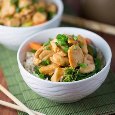 Stir-Fried Sriracha Honey Chicken Recipe | SideChef