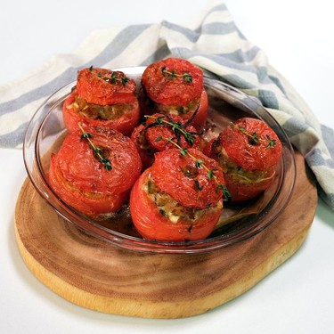 Stuffed Tomatoes à la Provençale Recipe   SideChef