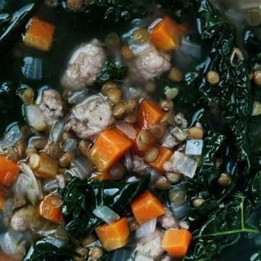 Kale and Sausage Soup Recipe | SideChef