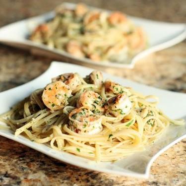Shrimp Scampi Linguine Recipe   SideChef