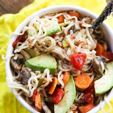 Ramen with Chicken and Veggies Recipe   SideChef