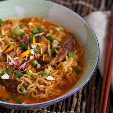 Chris Oh's Spicy Dorm Room Ramen Recipe | SideChef
