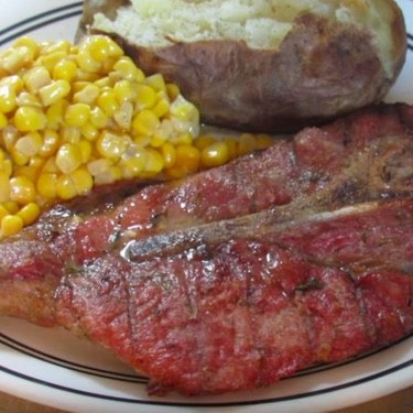 Grilled Rosemary and Thyme Pork Steak Recipe   SideChef