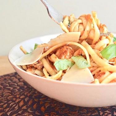 Bruschetta Chicken Pasta Recipe | SideChef