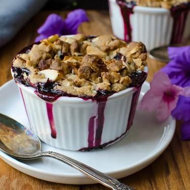 Blueberry Lemon Almond Crisp Recipe | SideChef