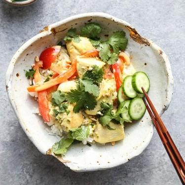 Homemade Chicken Green Thai Curry Recipe   SideChef
