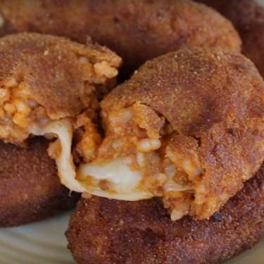 Rice Balls Stuffed with Mozzarella Recipe   SideChef