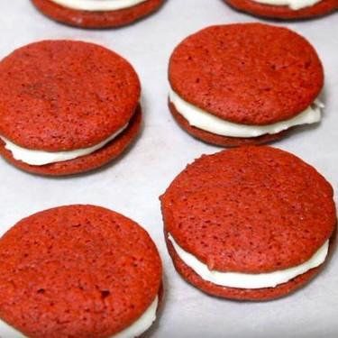 Red Velvet Oreo Cookies Recipe   SideChef