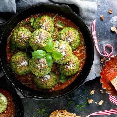 Chicken Florentine Meatballs Recipe   SideChef