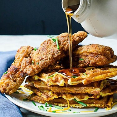 Southern Style Chicken and Waffles Recipe | SideChef