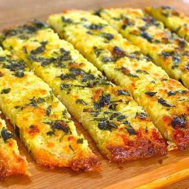 Low Carb, Keto-Friendly Garlic Bread Recipe   SideChef