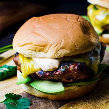 Sriracha Avocado Turkey Burgers Recipe | SideChef