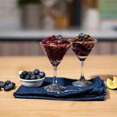 Chili-Lime Blueberry Granita Recipe   SideChef