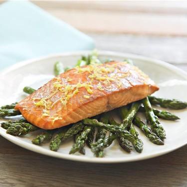 Dijon Salmon and Roasted Asparagus Recipe | SideChef