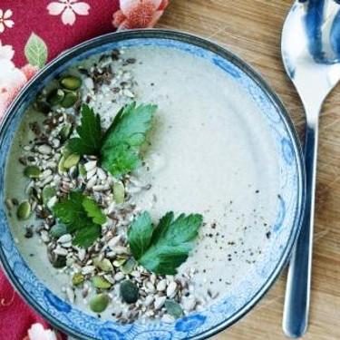 Vegan Creamy Mushroom Soup Recipe | SideChef