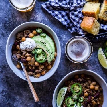Miso Jalapeño Beef Chili Recipe   SideChef