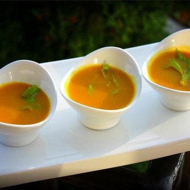 Coconut Curry Pumpkin Soup Recipe | SideChef
