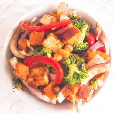 Vegan Sriracha Tofu Stir Fry Recipe   SideChef