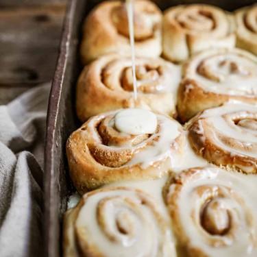 Vegan Vanilla Chai Cinnamon Buns Recipe | SideChef