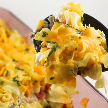 Cheesy Noodle Bake Recipe | SideChef