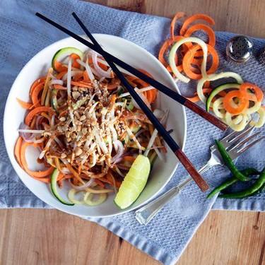 Raw Vegan Pad Thai Recipe | SideChef